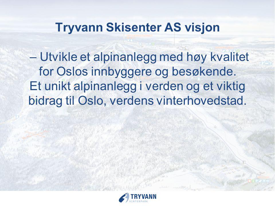 Utfordringer for fremtiden Snøsikre vinteraktiviteter Opprettholde interesse for aktivitet i store befolkningsgrupper Rammebetingelser for tilretteleg