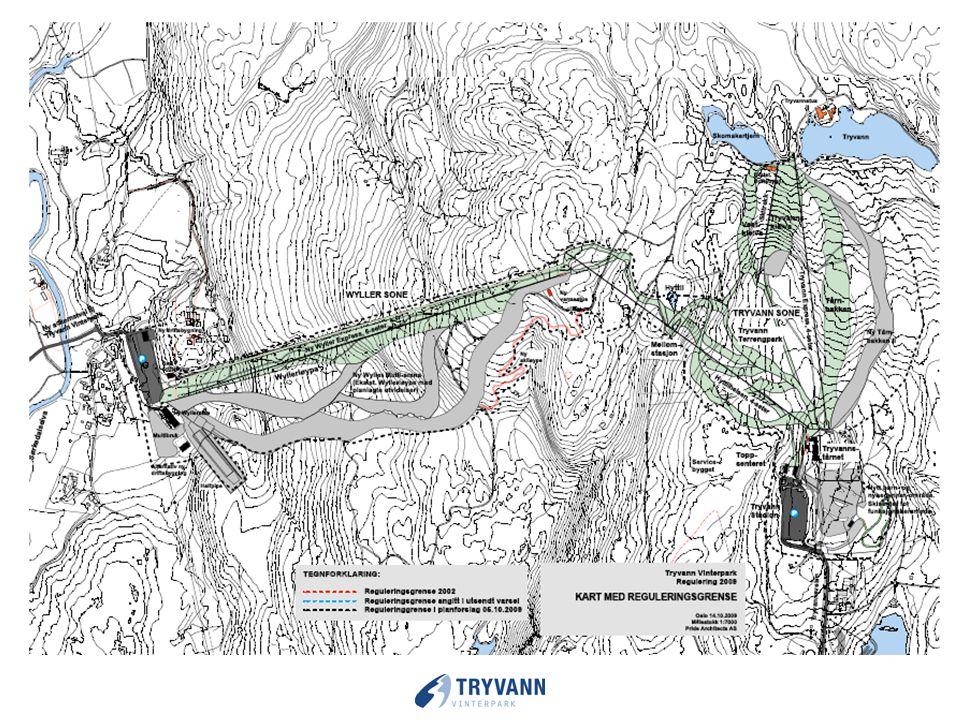 Tryvann Skisenter AS visjon – Utvikle et alpinanlegg med høy kvalitet for Oslos innbyggere og besøkende. Et unikt alpinanlegg i verden og et viktig bi