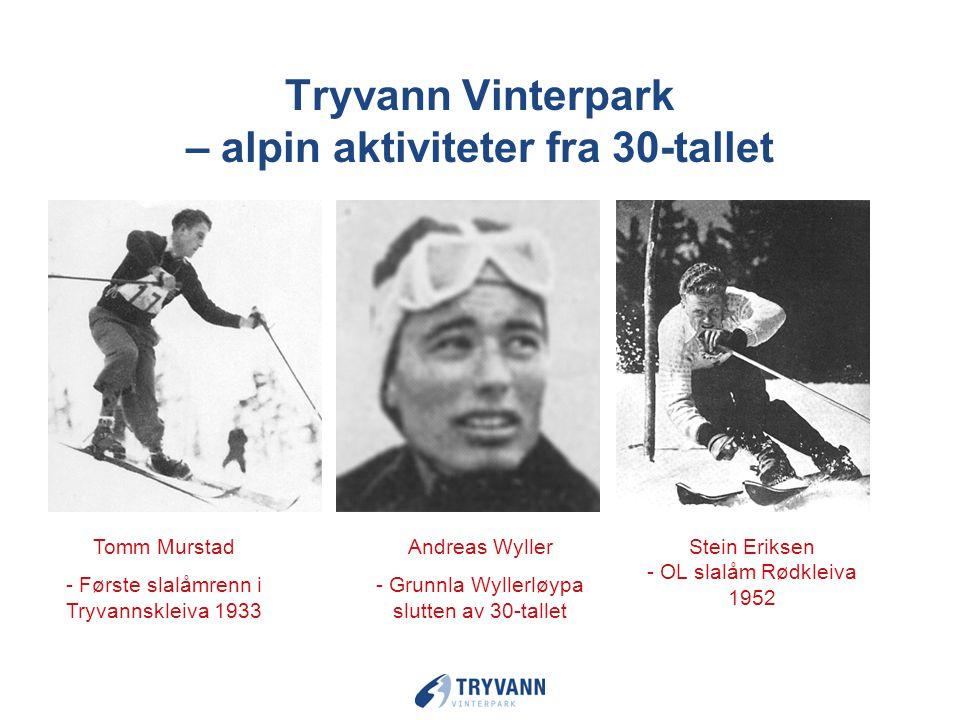 Fremsynt tilrettelegging for ski og snø aktiviteter begynte for over 100 år siden