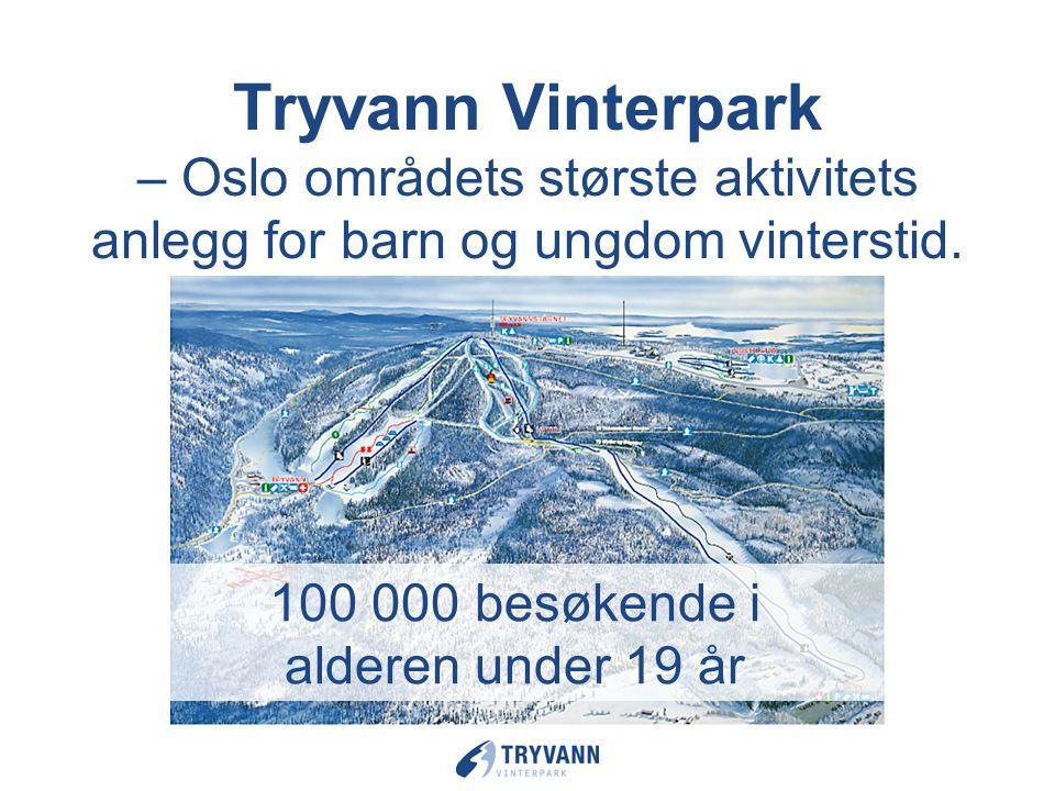 Tryvann Vinterpark – Oslo områdets største aktivitets anlegg for barn og ungdom vinterstid.