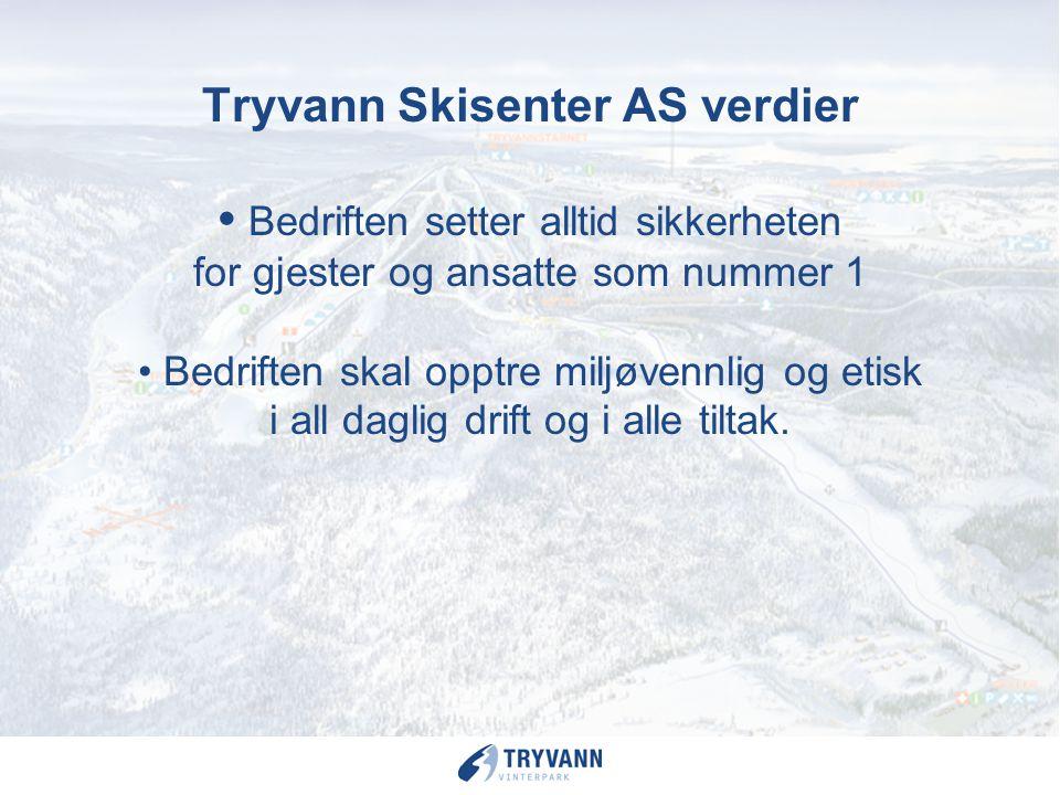 Tryvann Vinterpark – Oslo områdets største aktivitets anlegg for barn og ungdom vinterstid. 100 000 besøkende i alderen under 19 år