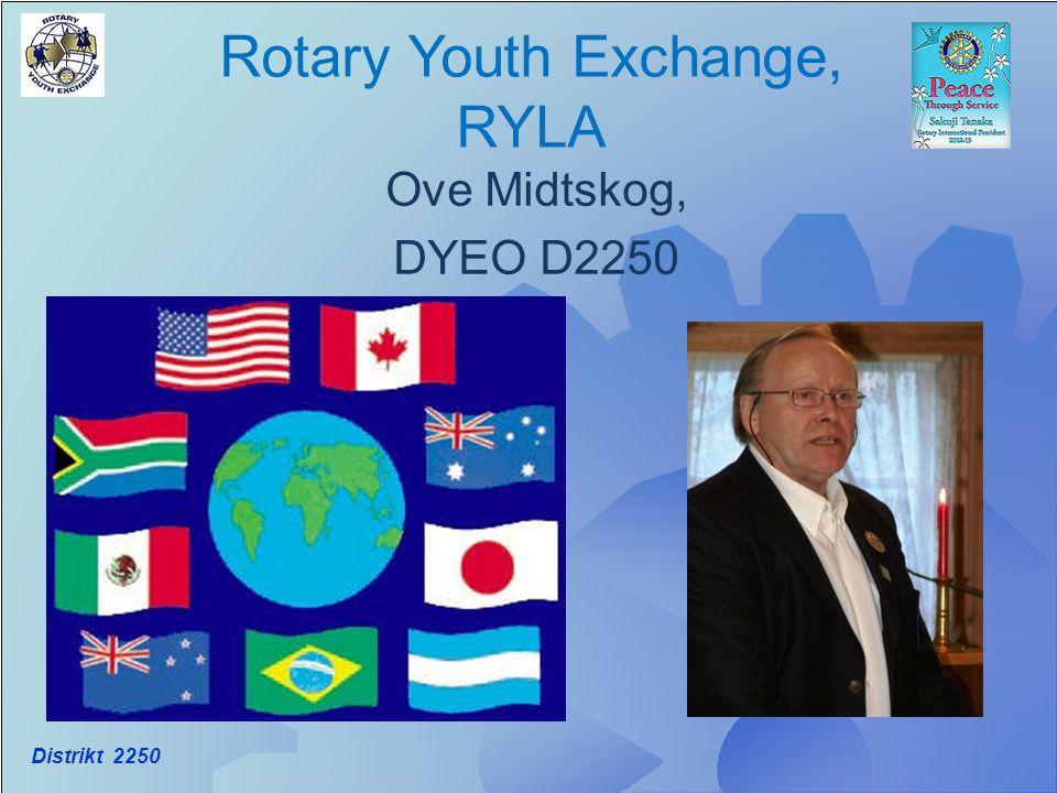 Distrikt 2250 Rotary Youth Exchange, RYLA Ove Midtskog, DYEO D2250