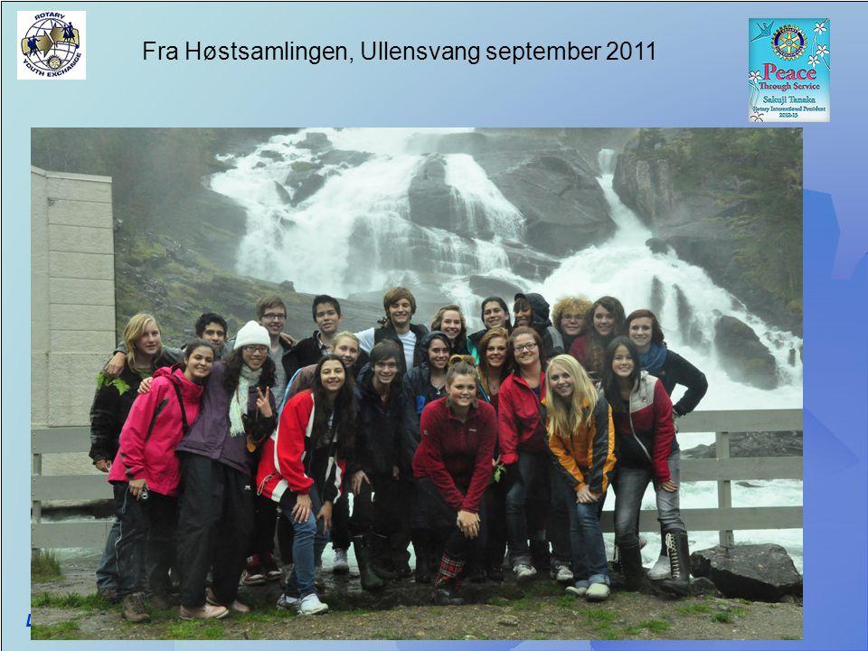 Fra Høstsamlingen, Ullensvang september 2011