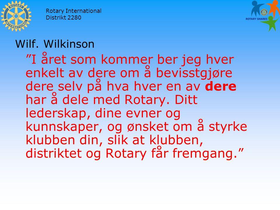 Rotary International Distrikt 2280 Wilf.