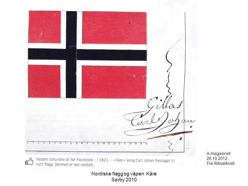 A-magasinet 26.10.2012 Fra Riksarkivet