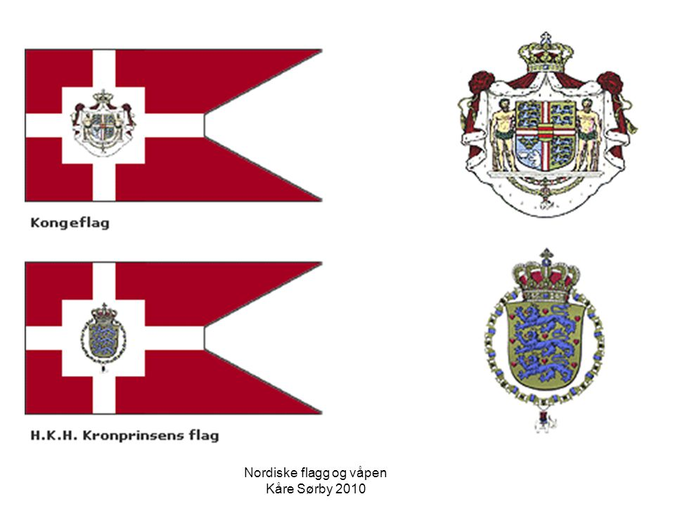 Union Jack Nordiske flagg og våpen Kåre Sørby 2010