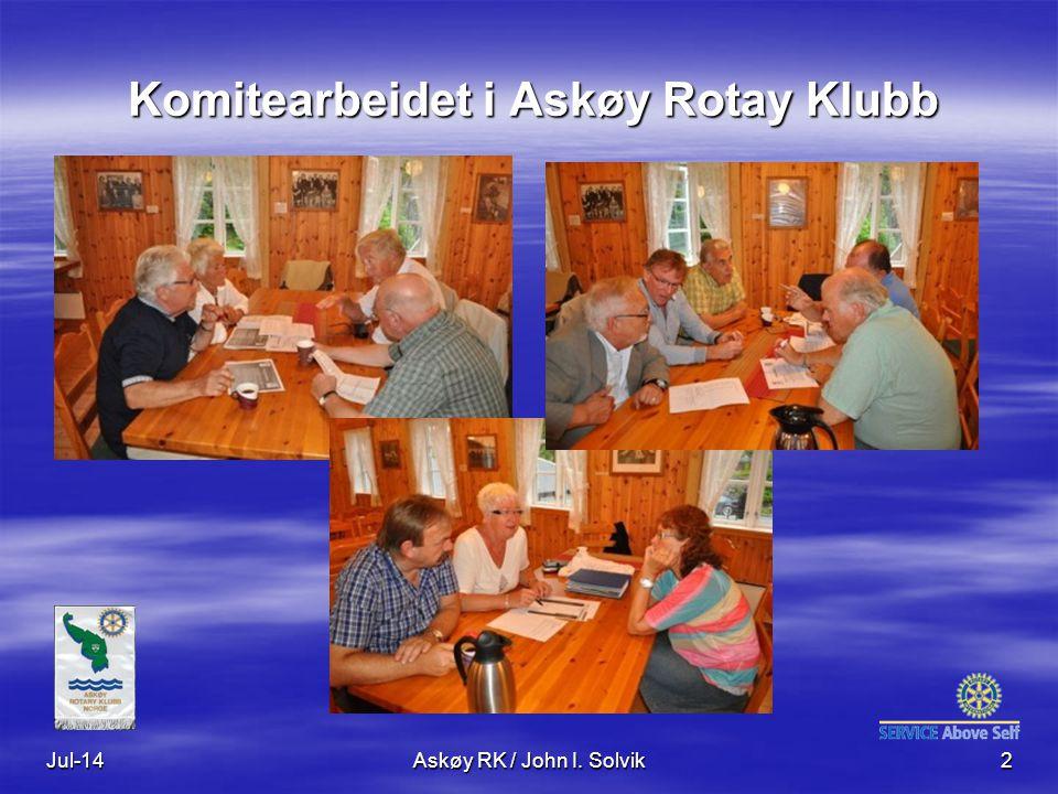 INFORMASJON INFORMASJON Klubben: www.askoy.rotary.no 10.07.2014 Rotaryskolen i D2250 13 Rotary Norge: www.rotary.no Rotary International: www.rotary.orgwww.rotary.org Distrikt 2250: www.rotary.no/d2250