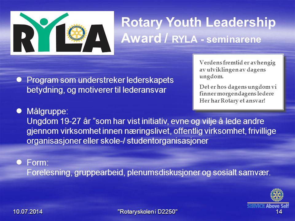 """Program som understreker lederskapets betydning, og motiverer til lederansvar Målgruppe: Ungdom 19-27 år """"som har vist initiativ, evne og vilje å lede"""