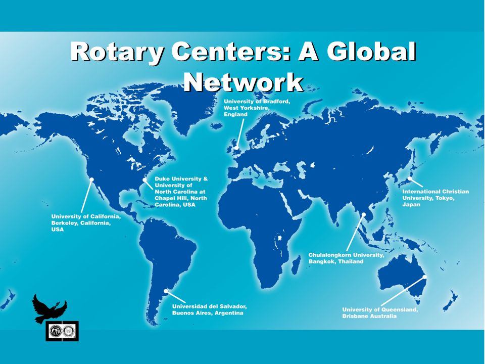Rotary Centers: A Global Network