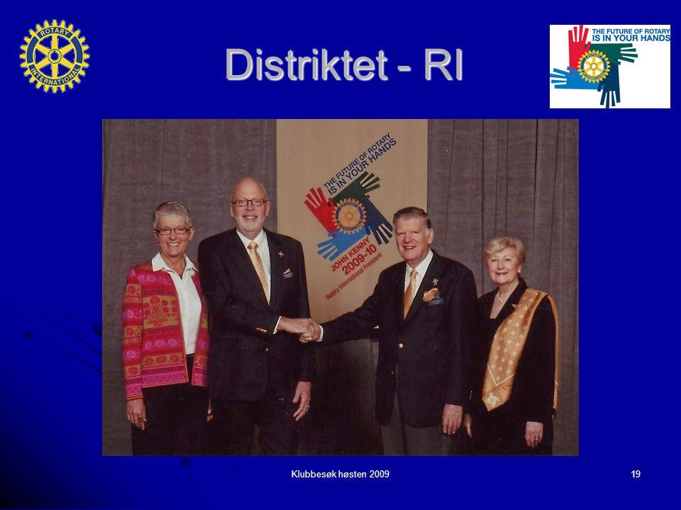Klubbesøk høsten 200919 Distriktet - RI
