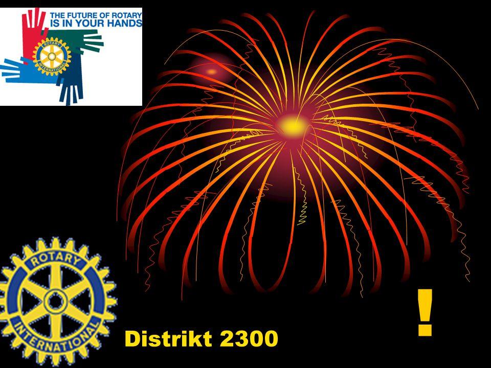 Distrikt 2300 !
