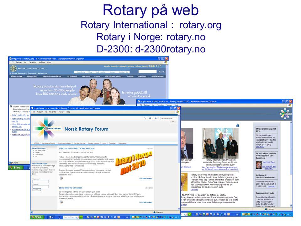 Et bedre Rotary og Bedre Rotarianere