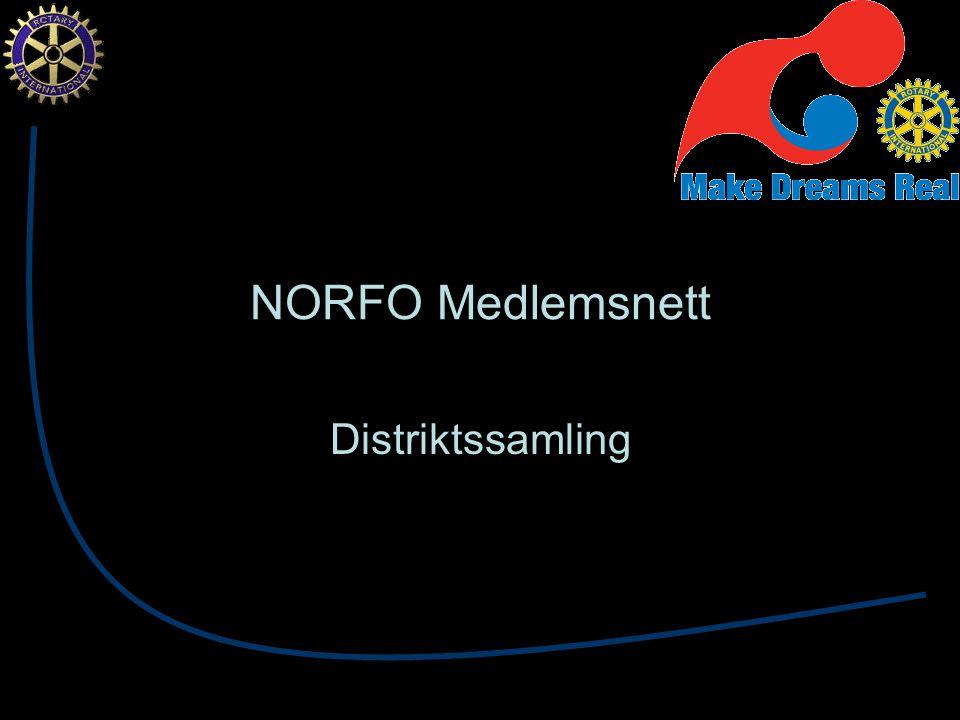 NORFO Medlemsnett Distriktssamling