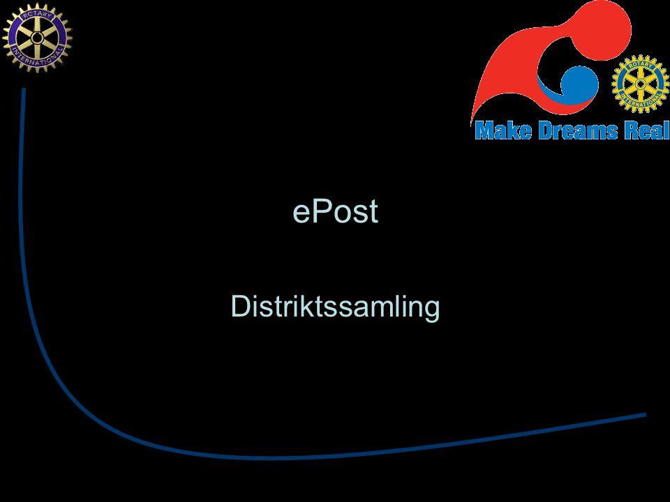 ePost Distriktssamling