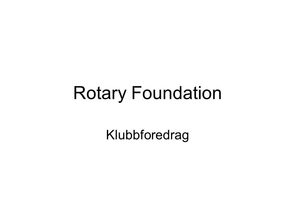 En av Rotarys visjoner er å utrydde polio.