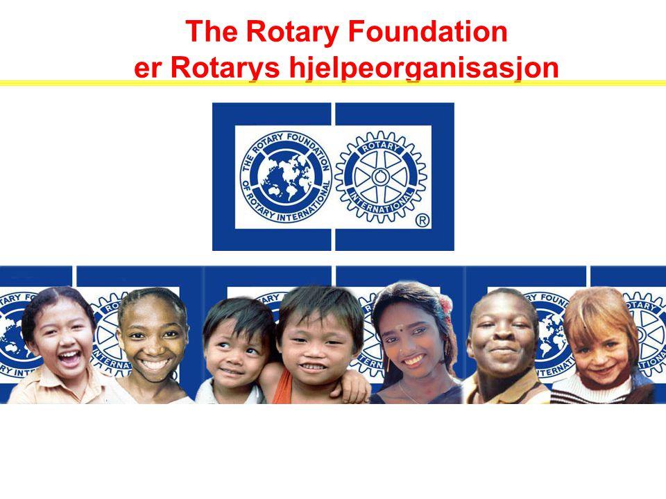 Da Rotary ble involvert i polio, trodde de fleste at frivillige organisasjoner bare hjalp mennesker i lokalsamfunnet – ikke ellers i verden.