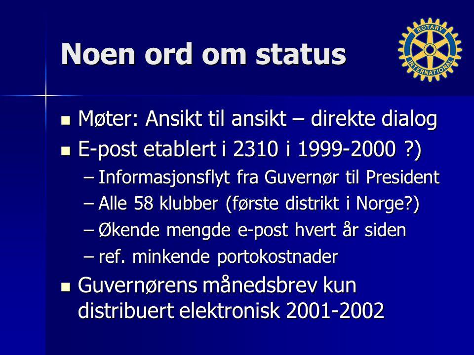 E-post som fenomen En – til mange kommunikasjon Kopi til alle berørte interessenter Svar eller svar til alle .