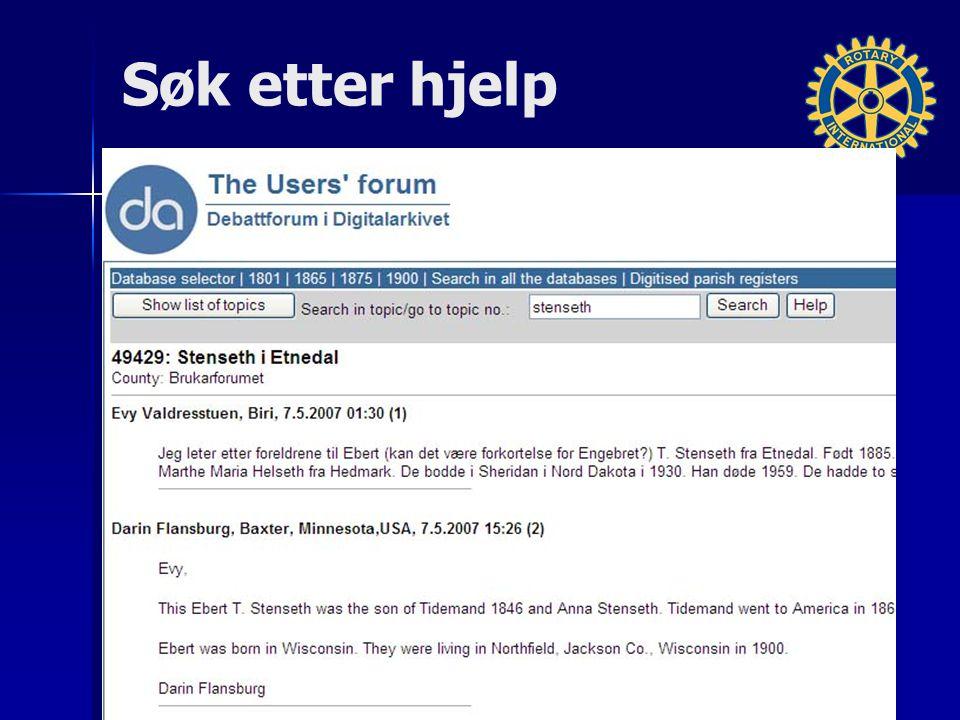 Blog via Medlemsnett Forum i nytt Medlemsnett (nov.
