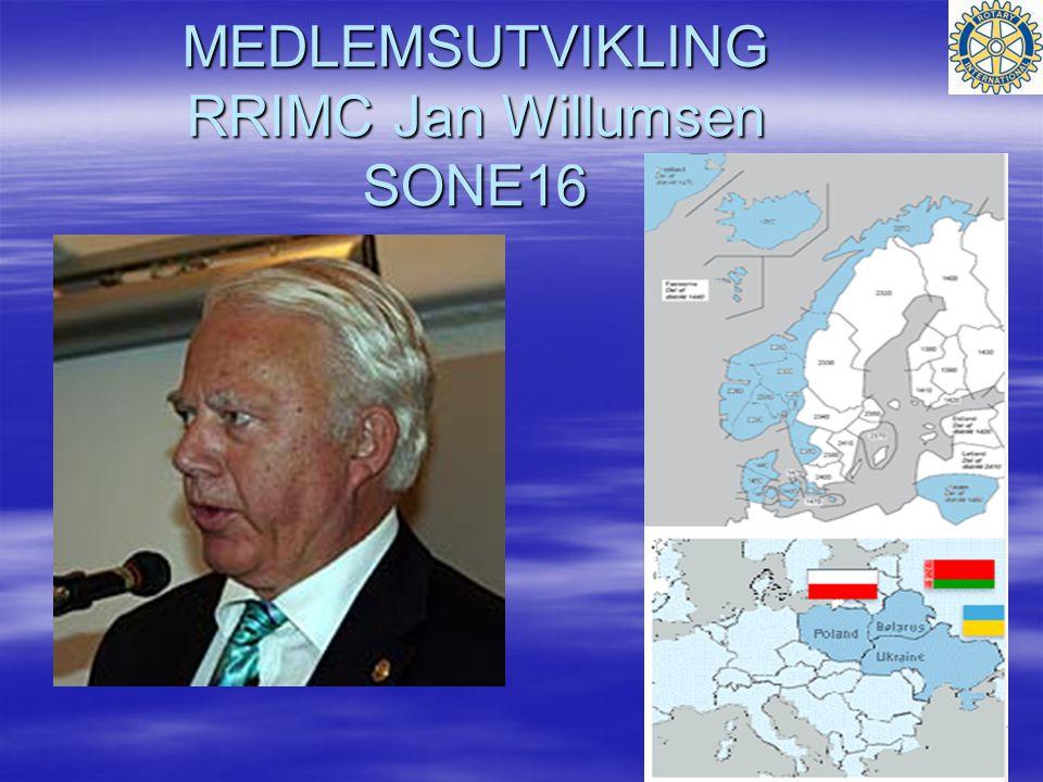 MEDLEMSUTVIKLING RRIMC Jan Willumsen SONE16