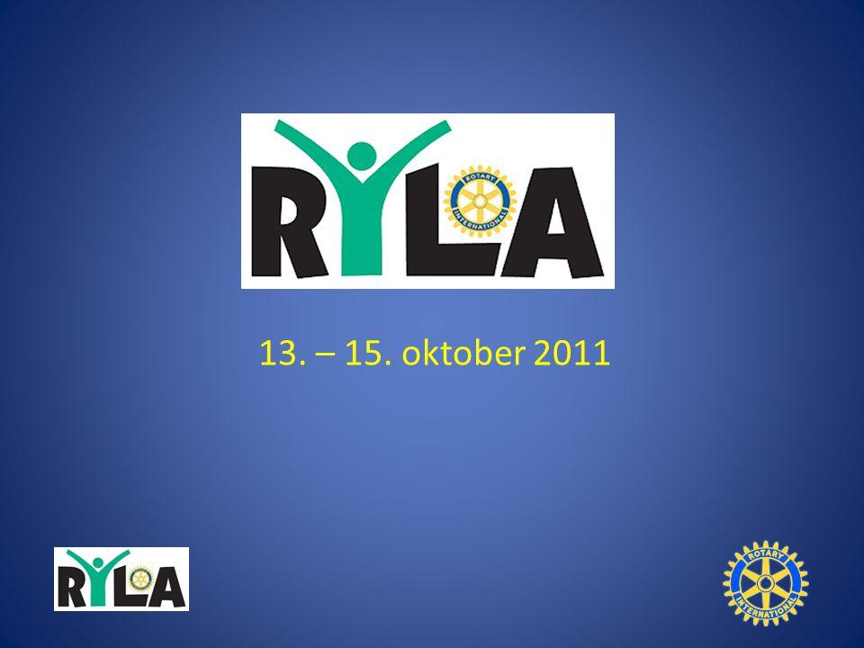 13. – 15. oktober 2011