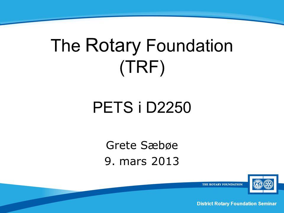 Lykke til ! Takk for oppmerksomheten! PETS I D 2250, 9. mars 2013, Grete Sæbø