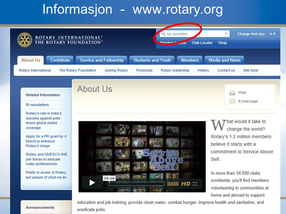 19 Informasjon - www.rotary.org