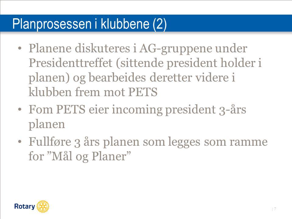   8 Planprosessen i klubbene (3) Et klubb-møte mellom PETS og 30.4 bør avsettes til gjennomgang av planer.
