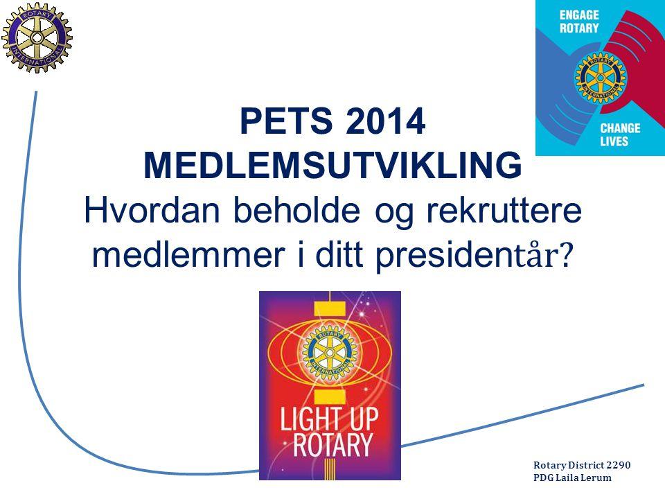 Rotary District 2290 PDG Laila Lerum