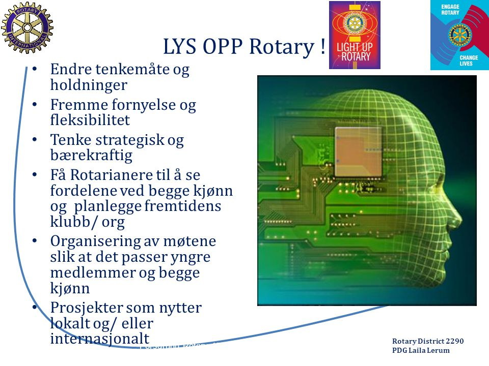 Rotary District 2290 PDG Laila Lerum Porsgrunn Rotary 13.