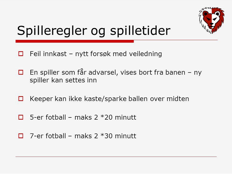 Forsikring  Spillere er dekket av Norges idrettsforbunds barneidrettsforsikring Norges fotballforbunds grunnforsikring  Forutsetter dokumentasjon av at spiller er registrert som medlem  www.fotballforsikring.no www.fotballforsikring.no