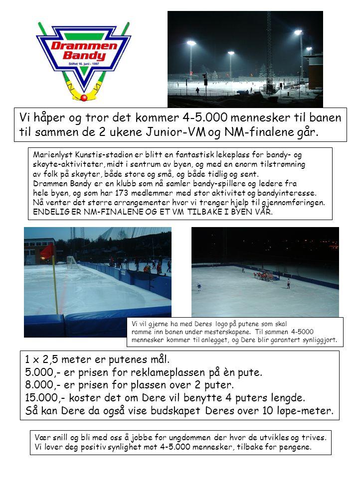 Mange muligheter under mesterskapene: VM/NM Program og annonserKr.