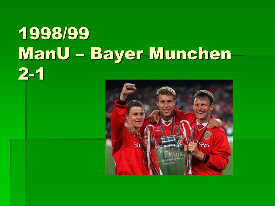 1998/99 ManU – Bayer Munchen 2-1
