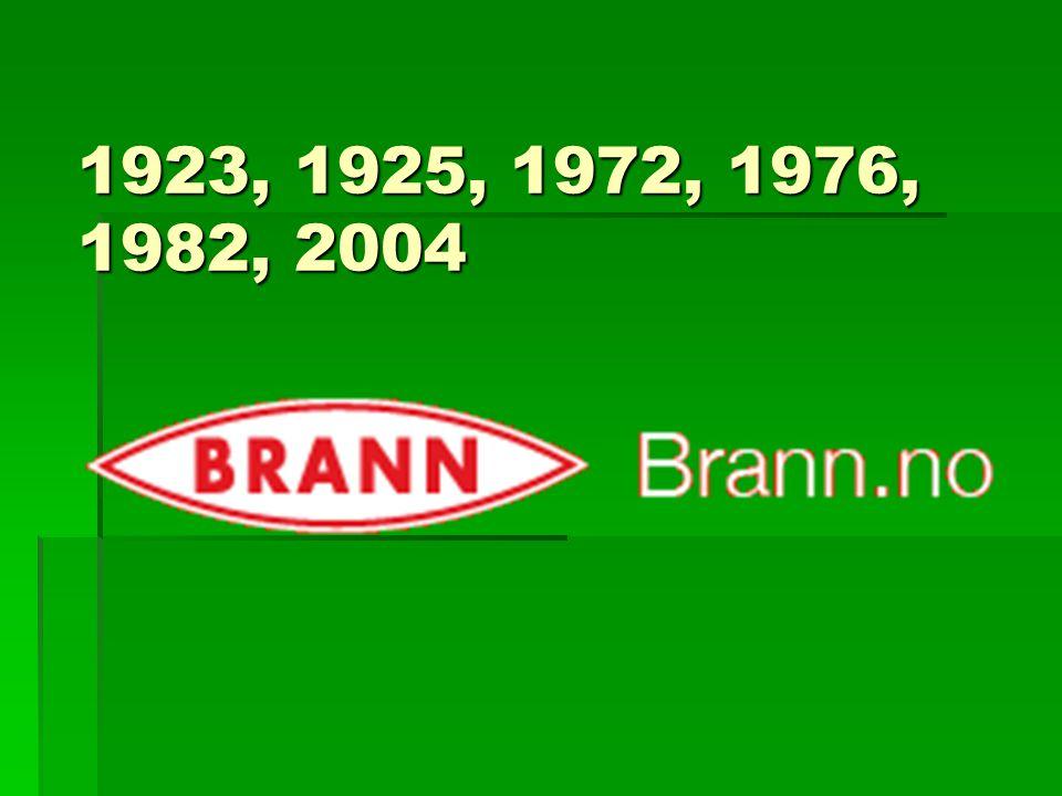 1923, 1925, 1972, 1976, 1982, 2004