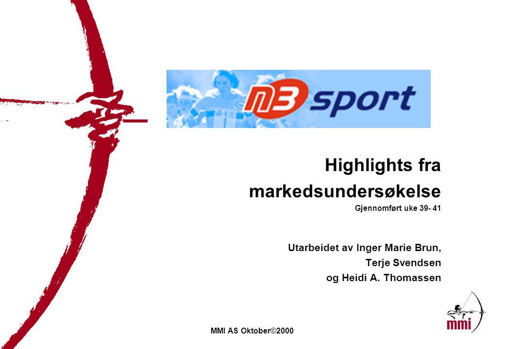 10 July 2014, side 2 Formål og bakgrunn for undersøkelsen n3sport as er et IT-selskap som utvikler og driver tjenester for informasjonsutveksling og - formidling innen sport og idrett.