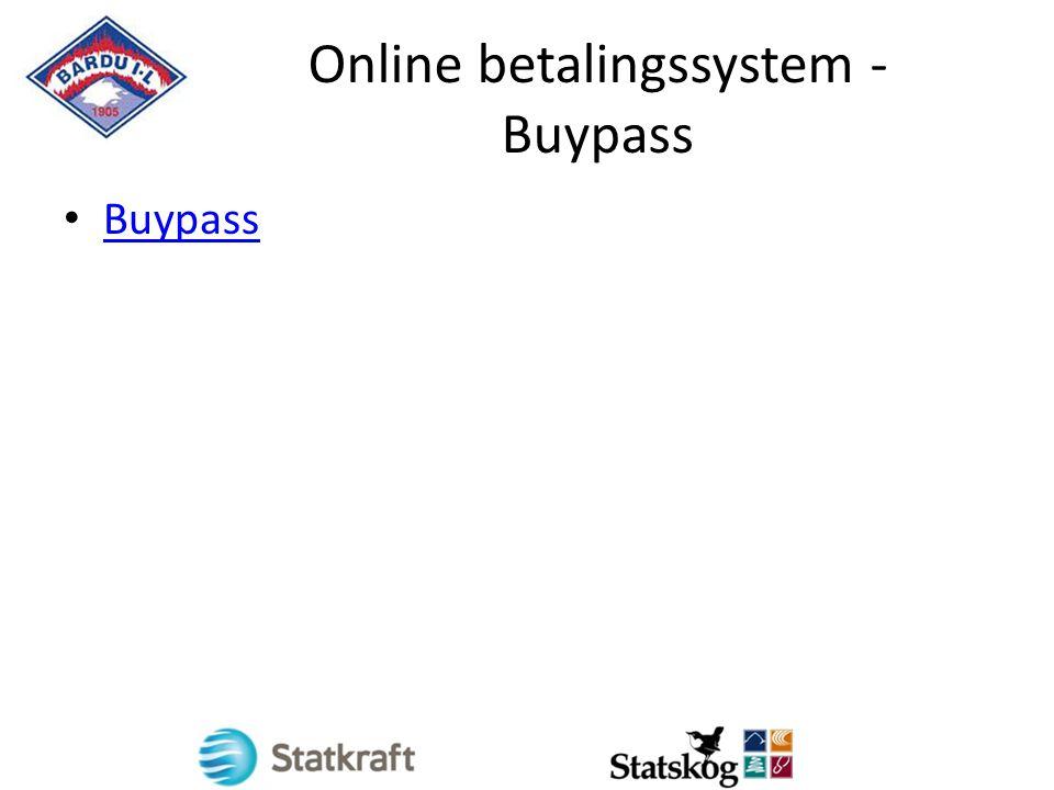 Online betalingssystem - Buypass Buypass