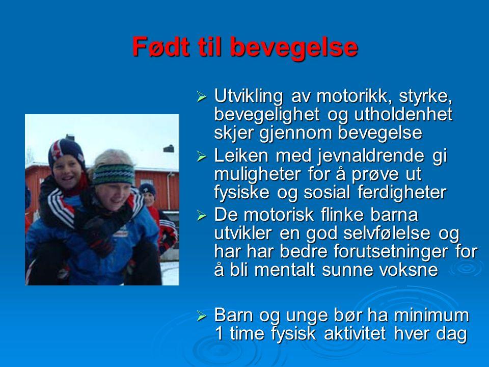 Spreke barn er populære barn Aktiv barn er glade barn www.idrett.no – Barn og ungdom - prosjekter- Rapport BBO- prosjektet www.idrett.no