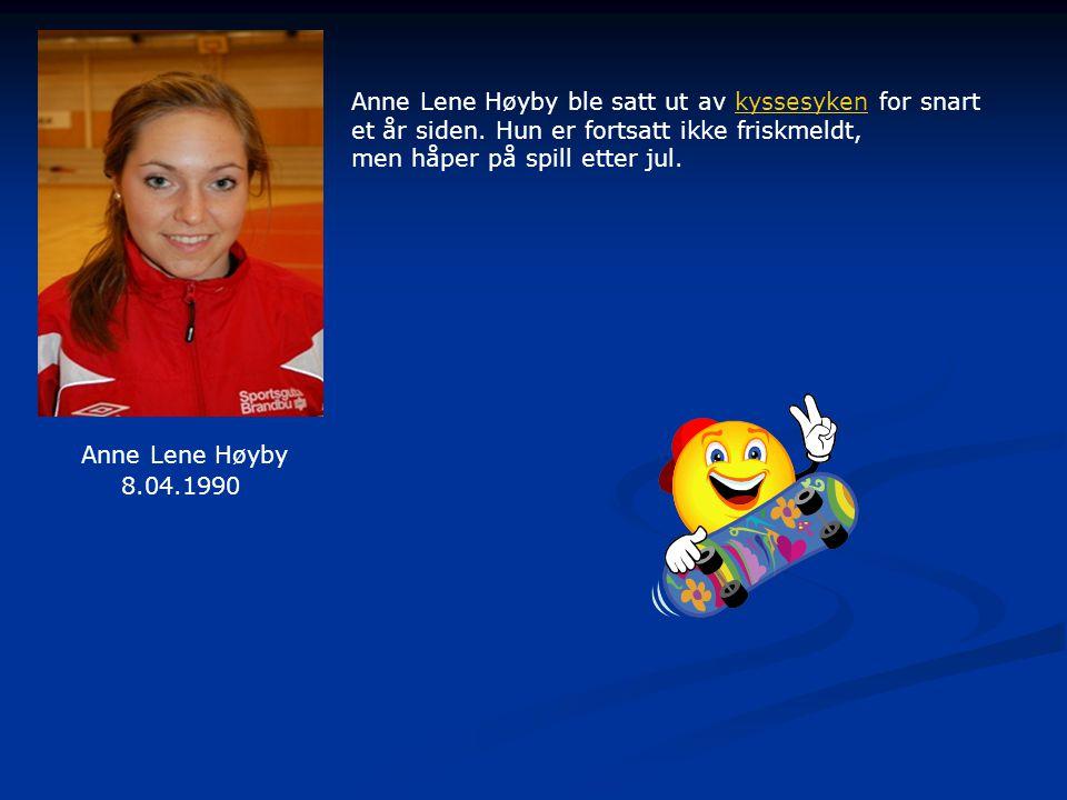 Anne Lene Høyby ble satt ut av kyssesyken for snartkyssesyken et år siden.