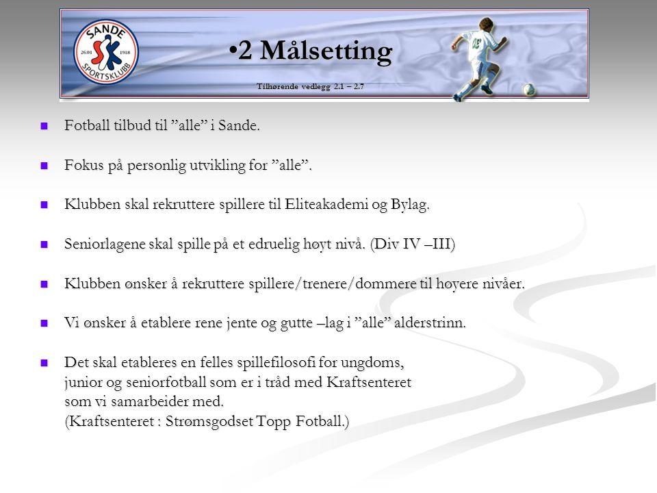 Jobbe for å rekruttere/utdanne keepere/utespillere/trenere/dommere.
