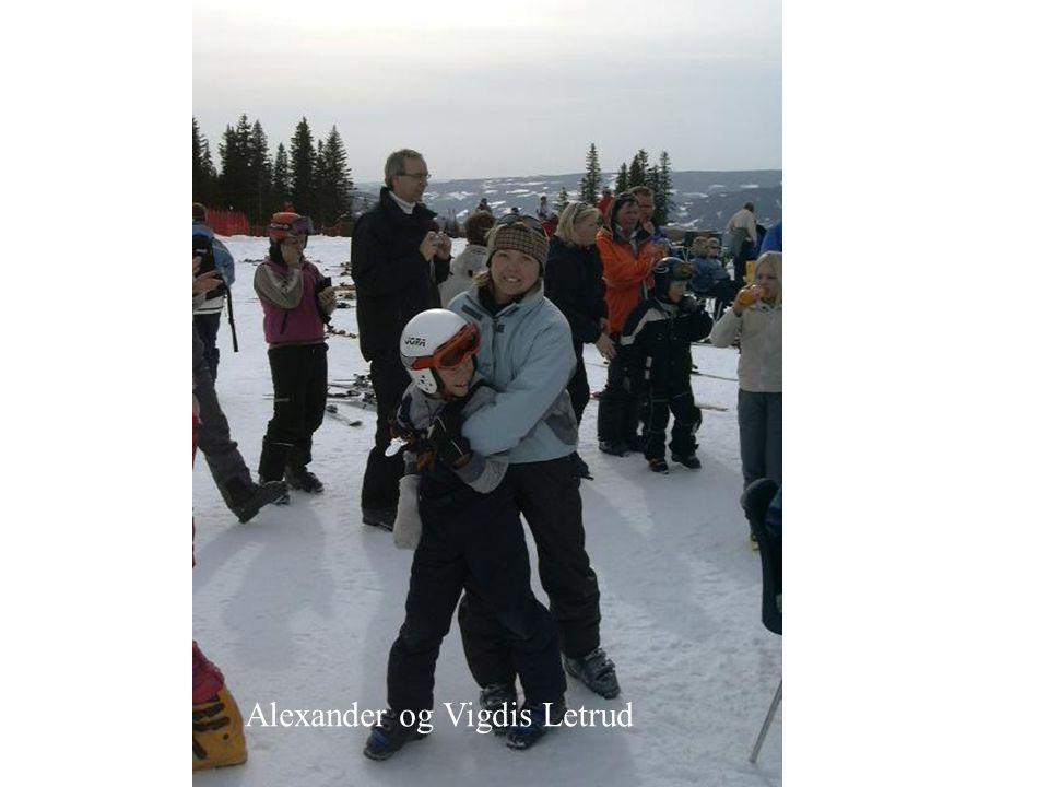 Alexander og Vigdis Letrud