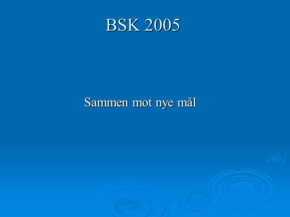 BSK 2005 Sammen mot nye mål