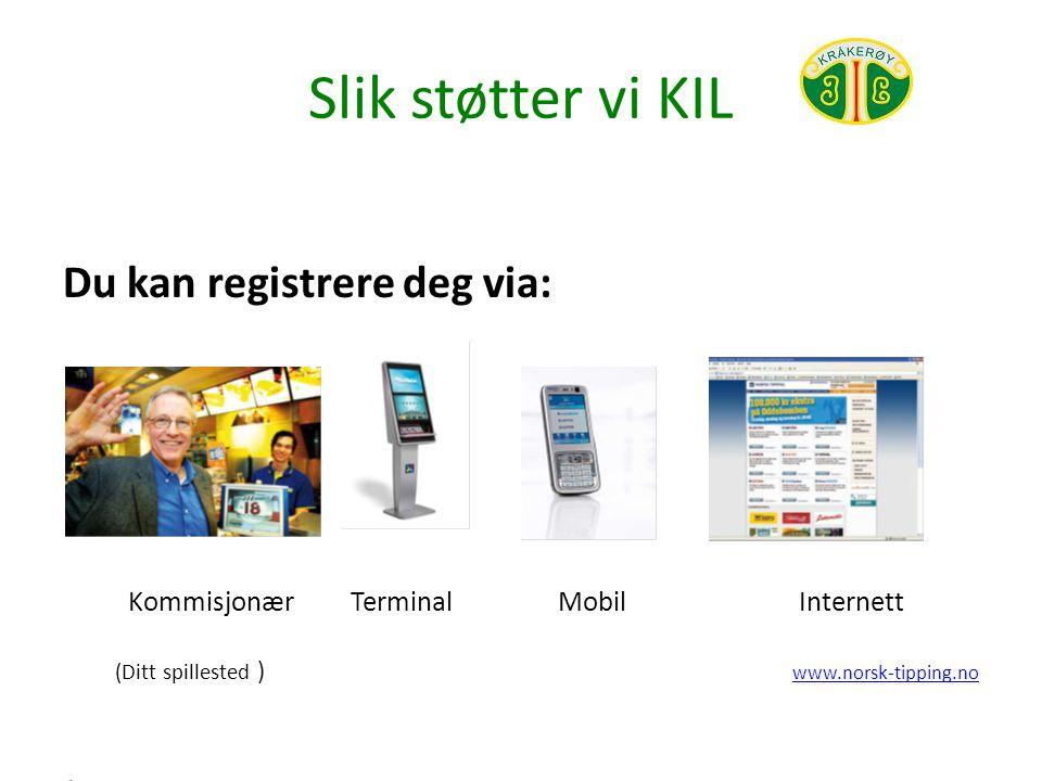 Slik støtter vi KIL Dette må du ha/ ha med deg: Finn Kråkerøy IL eller vårt organisasjonsnummer : 970935754