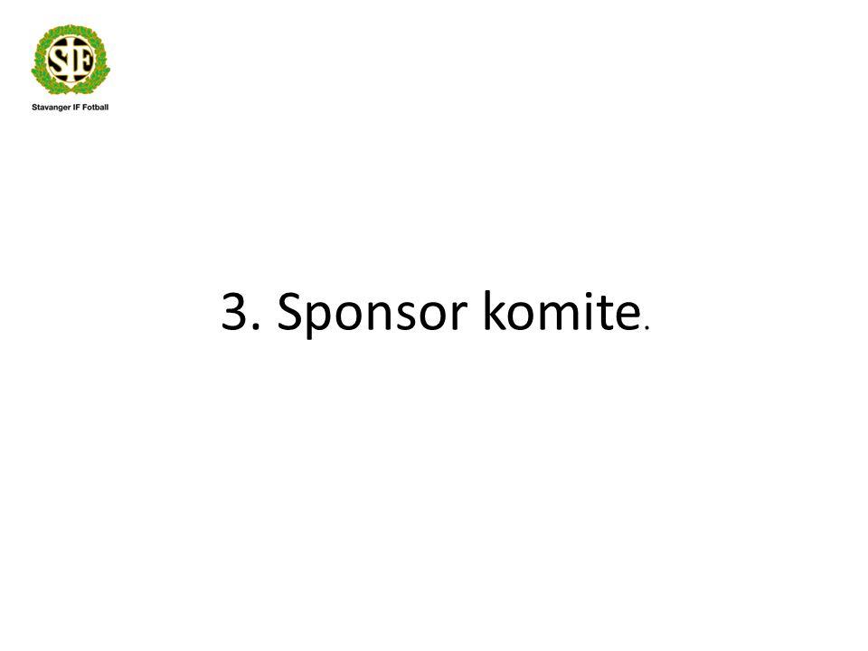 3. Sponsor komite.
