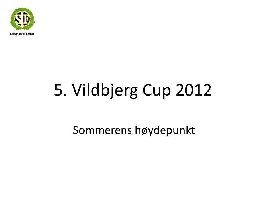 5. Vildbjerg Cup 2012 Sommerens høydepunkt