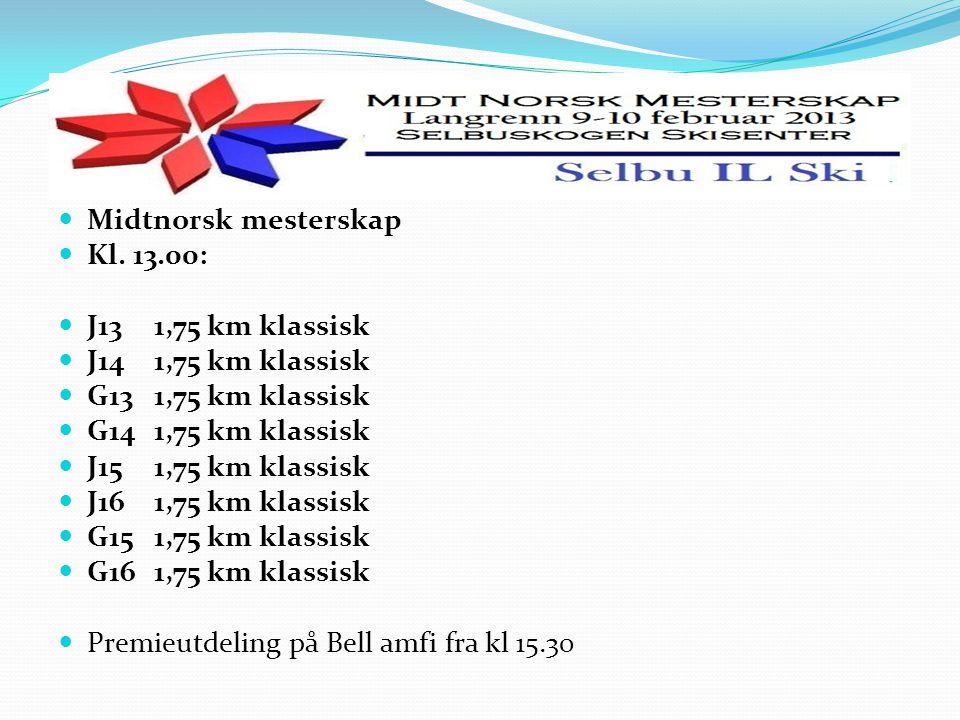 Midtnorsk mesterskap Kl.