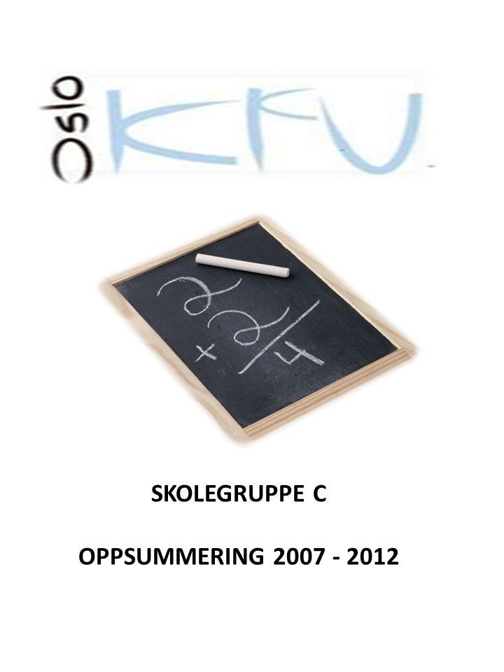 SKOLEGRUPPE C OPPSUMMERING 2007 - 2012