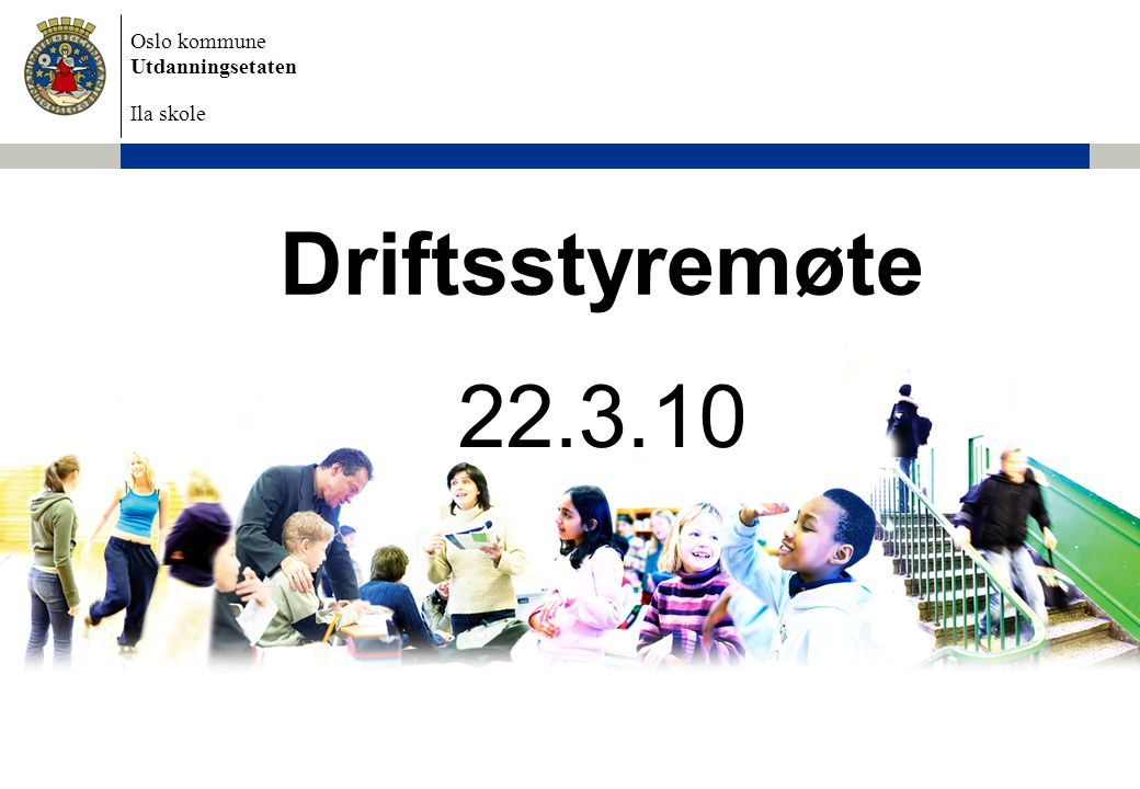 Oslo kommune Utdanningsetaten Ila skole Temperaturmåling – Må lærerne bruke mye tid på å få ro i klassen.