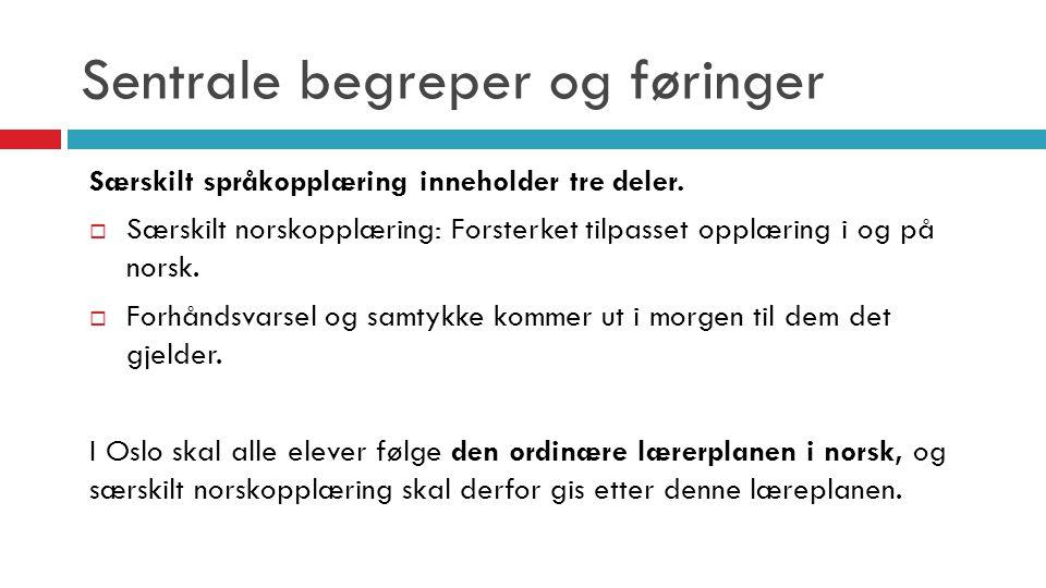 Oppfølging av den enkelte elev  Osloskolens overordnede målsetning er å sikre et godt læringsutbytte for alle elevene  Elevsamtale gjennomføres minst to ganger per skoleår.
