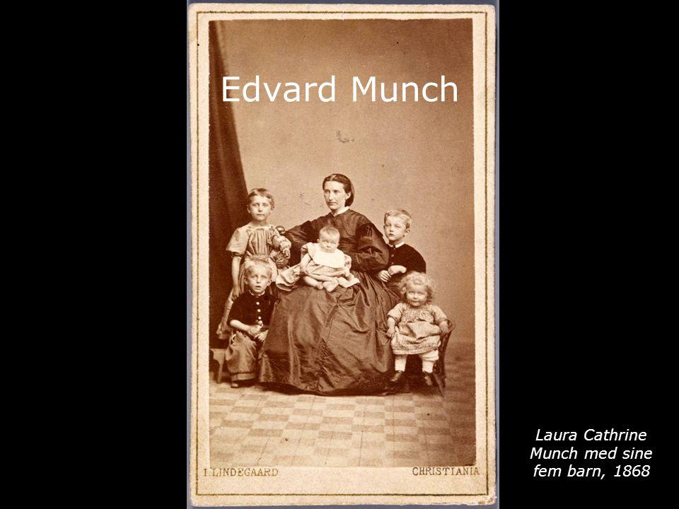 Edvard Munch Laura Cathrine Munch med sine fem barn, 1868