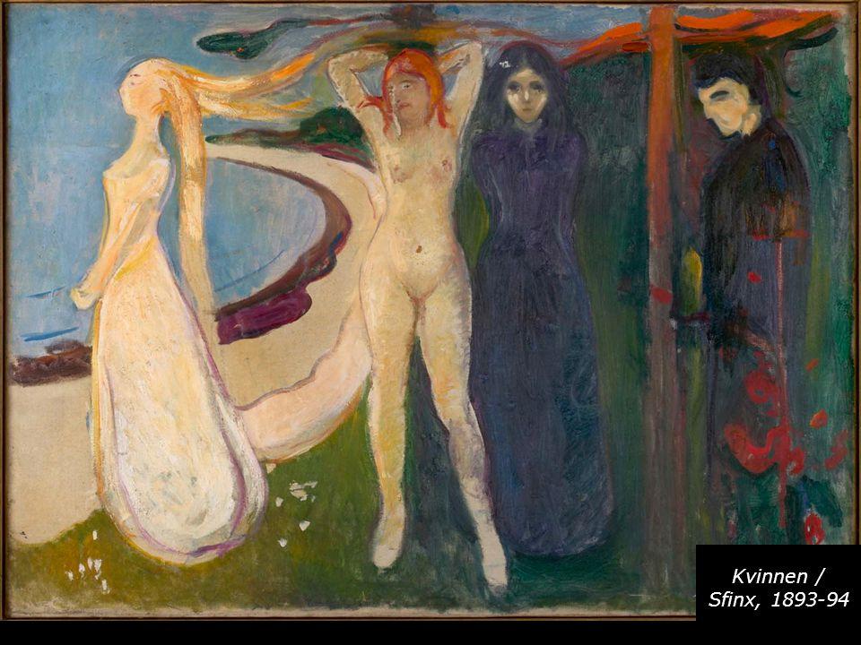 Kvinnen / Sfinx, 1893-94