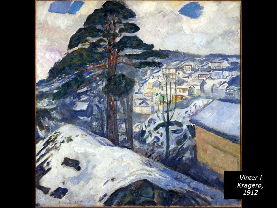 Vinter i Kragerø, 1912